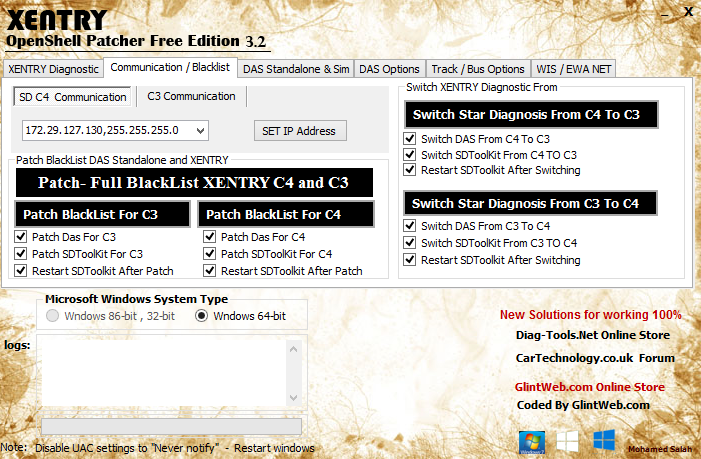 Xentry Patcher Free 3.2